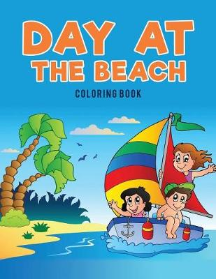 Day at the Beach Coloring Book (Paperback)