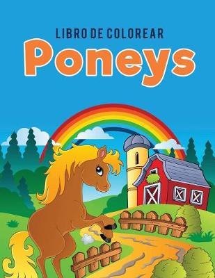 Libro de Colorear Poneys (Paperback)