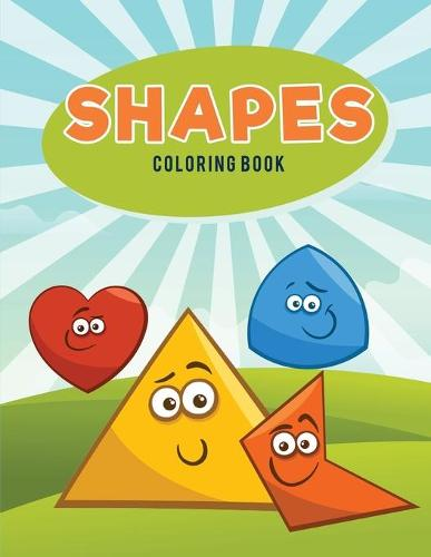 Shapes Coloring Book (Paperback)