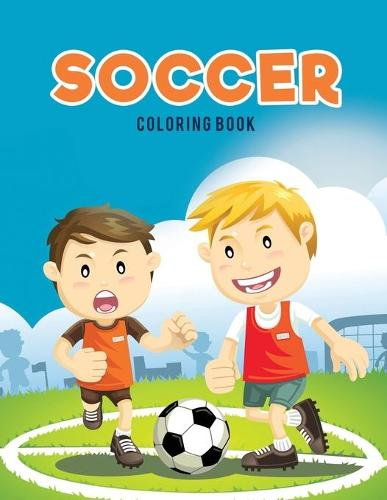 Soccer Coloring Book (Paperback)