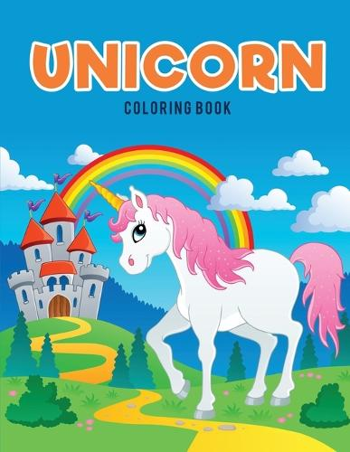 Unicorn Coloring Book (Paperback)