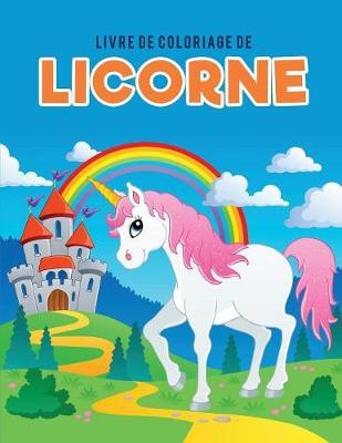 Livre de Coloriage de Licorne (Paperback)