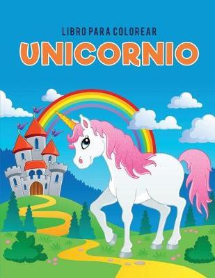 Libro Para Colorear Unicornio (Paperback)