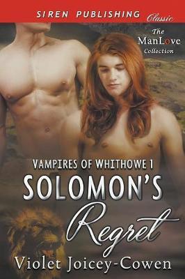 Solomon's Regret [Vampires of Whithowe 1] (Siren Publishing Classic Manlove) (Paperback)