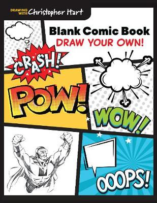 Blank Comic Book: Draw Your Own! (Paperback)
