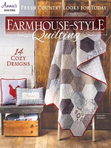 Farmhouse-Style Quilting: Fresh Country Looks for Today (Paperback)
