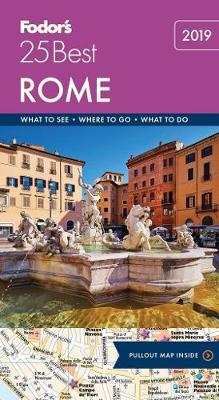 Fodor's Rome 25 Best - Full-color Travel Guide (Paperback)