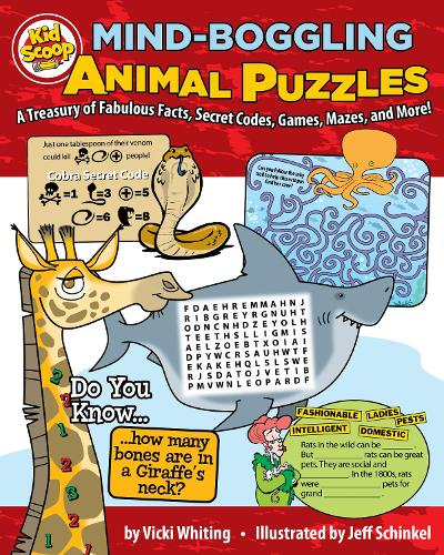 Mind-Boggling Animal Puzzles: A Treasury of Fabulous Facts, Secret Codes, Games, Mazes, and More! (Paperback)