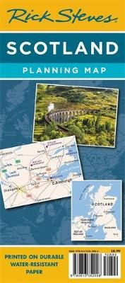 Rick Steves Scotland Planning Map: Including Edinburgh & Glasgow City Maps (Sheet map, folded)