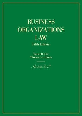 Business Organizations Law - Hornbook Series (Hardback)