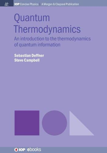 Quantum Thermodynamics: An Introduction to the Thermodynamics of Quantum Information (Hardback)