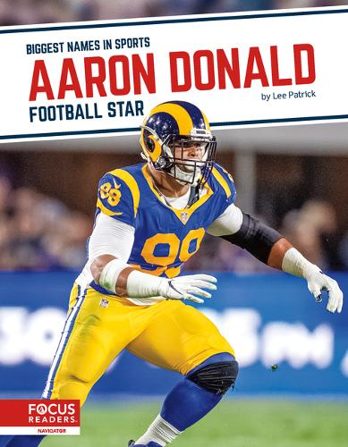 Biggest Names in Sports: Aaron Donald: Football Star (Hardback)