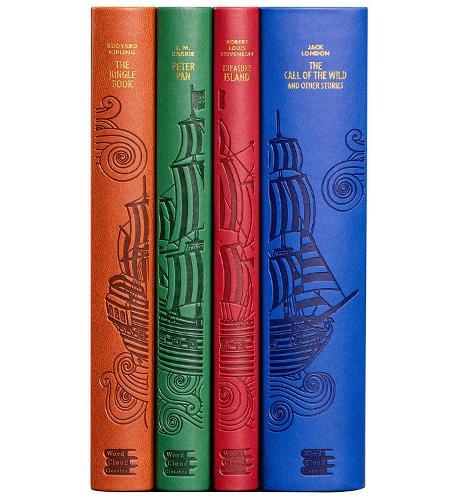 Adventure Word Cloud Boxed Set - Word Cloud Classics (Paperback)