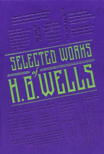 Selected Works of H. G. Wells - Word Cloud Classics (Paperback)