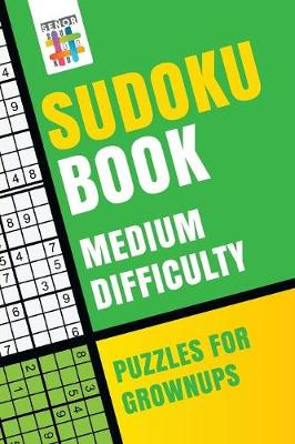 Sudoku Book Medium Difficulty Puzzles for Grownups (Paperback)