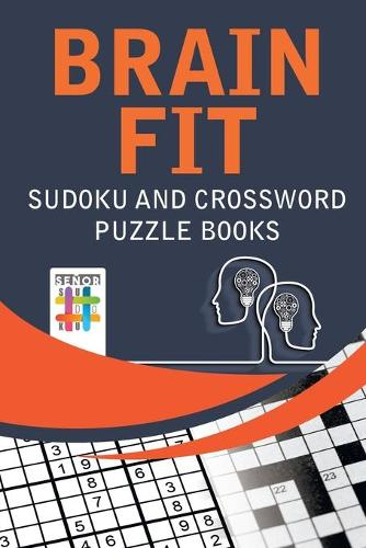 Brain Fit Sudoku and Crossword Puzzle Books (Paperback)