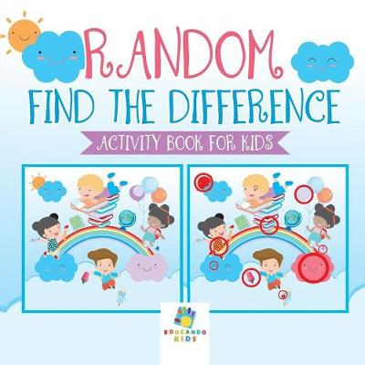 Random Find the Difference Activity Book for Kids (Paperback)