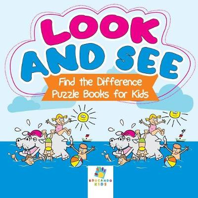 Look and See Find the Difference Puzzle Books for Kids (Paperback)