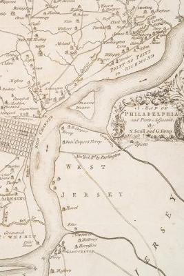 1777 Map of Philadelphia and Parts Adjacent: A Poetose Notebook / Journal / Diary (50 pages/25 sheets) - Poetose Notebooks (Paperback)