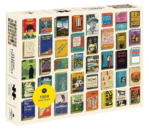 Classic Paperbacks 1000 Piece Puzzle (Jigsaw)