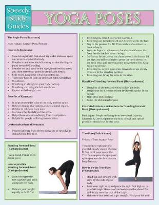 Yoga Poses (Speedy Study Guide) (Paperback)