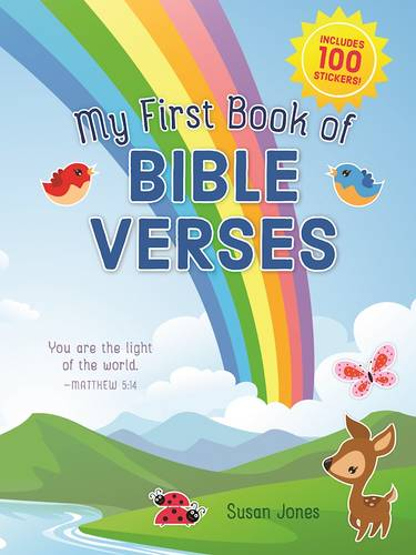 My First Book of Bible Verses (Paperback)