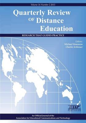Quarterly Review of Distance Education Volume 16, Number 2, 2015 (Paperback)