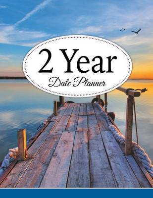 2 Year Date Planner (Paperback)