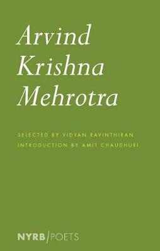 Arvind Krishna Mehrotra (Paperback)