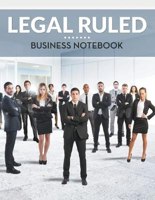 Legal Ruled Business Notebook (Paperback)