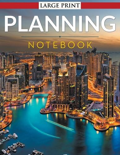 Planning Notebook - Large Print (Paperback)