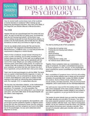 Dsm-5 Abnormal Psychology (Speedy Study Guides) (Paperback)
