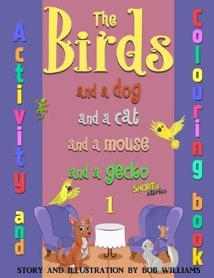 The Birds, Colouring and Activity Book (Paperback)