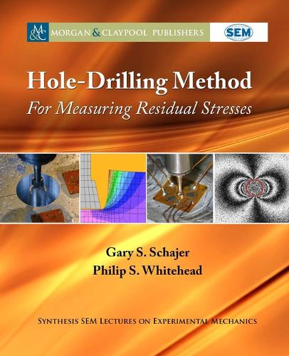 Hole-Drilling Method for Measuring Residual Stresses - Synthesis SEM Lectures on Experimental Mechanics (Paperback)