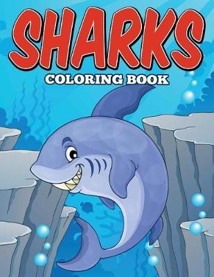 Sharks Coloring Book (Paperback)
