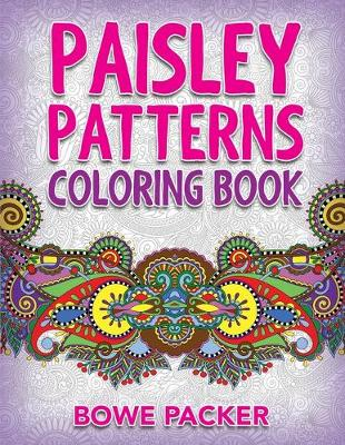 Paisley Patterns Coloring Book (Paperback)