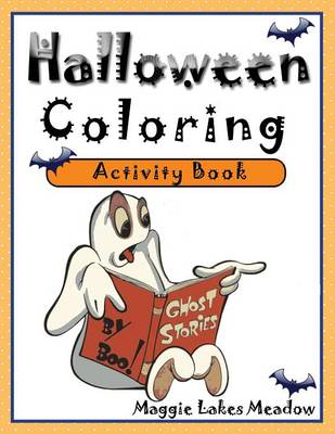 Halloween Coloring Activity Book (Paperback)