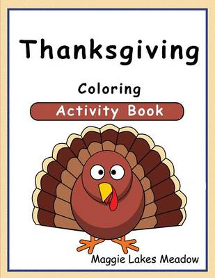 Thanksgiving Coloring Activity Book (Paperback)