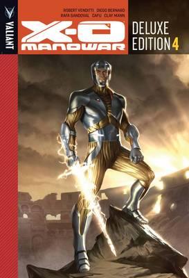 X-O Manowar Deluxe Edition Book 4 (Hardback)