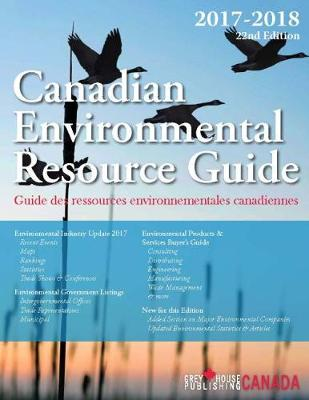 Canadian Environmental Resource Guide, 2017/18 (Paperback)