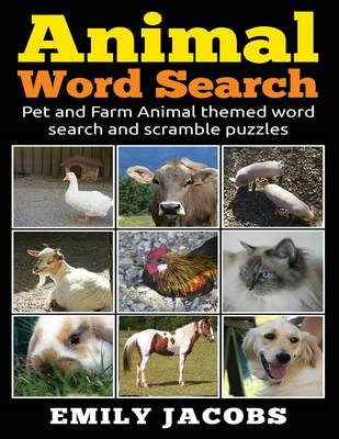 Animal Word Search (Paperback)