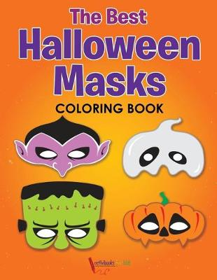 The Best Halloween Masks Coloring Book (Paperback)