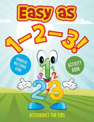 Easy as 1-2-3! Numbers Matching Game Activity Book (Paperback)