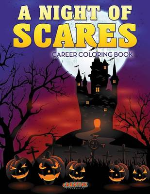 A Night of Scares Coloring Book (Paperback)