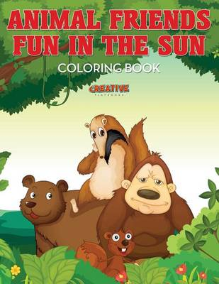 Animal Friends Fun in the Sun Coloring Book (Paperback)