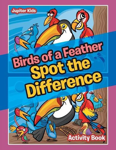 Birds of a Feather Spot the Difference Activity Book (Paperback)