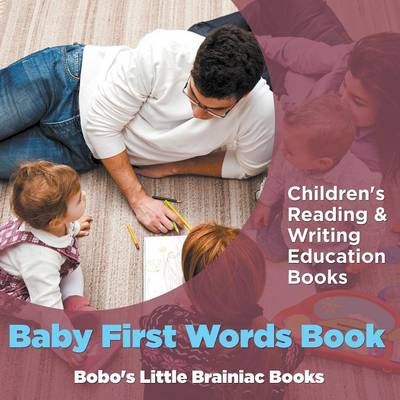 Baby First Words Book: Children's Reading & Writing Education Books (Paperback)