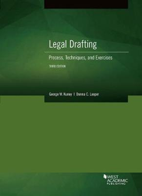 Legal Drafting, Process, Techniques, and Exercises (Paperback)