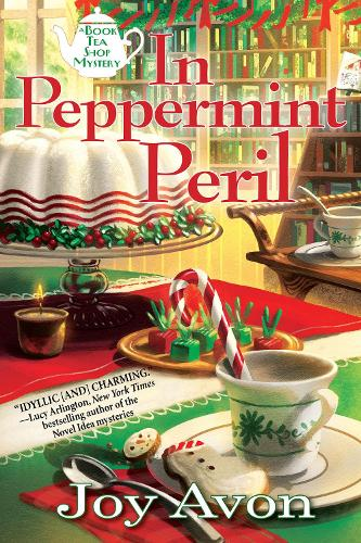 In Peppermint Peril: A Tea and a Read Mystery (Hardback)