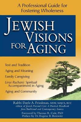 Jewish Visions for Aging: A Professional Guide for Fostering Wholeness (Paperback)